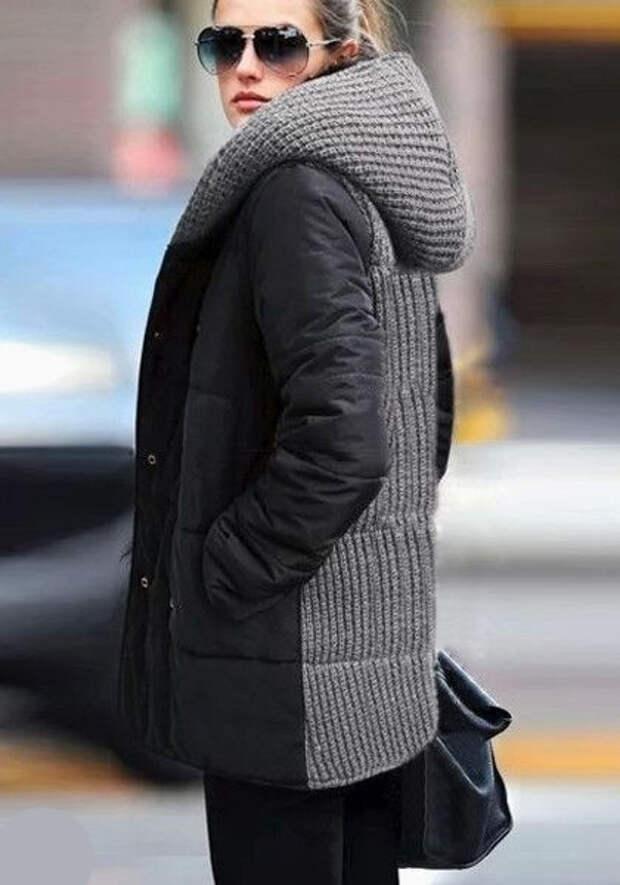 Идеи комбинирования тканей для пальто 5