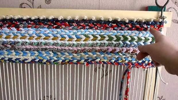 Ковры из шнура своими руками: схемы и техники (54 фото)