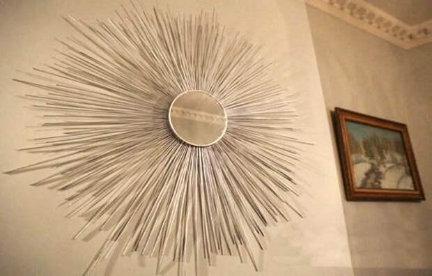 Мастер-класс: зеркало-солнце своими руками