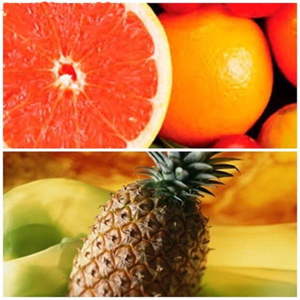 Грейпфрут или ананас для похудения