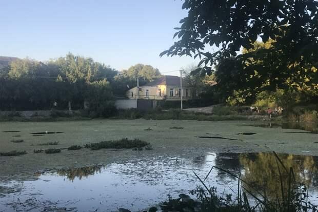 В Симферополе расчистят Даниловский пруд от грязи и ила