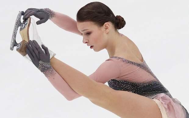 Щербакова — чемпионка мира по фигурному катанию. Видео произвольной программы
