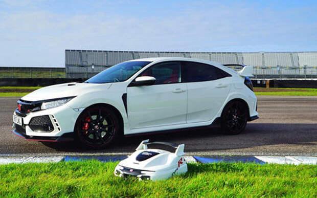 Honda рассекретила электрический автономный Type R. Для лужайки