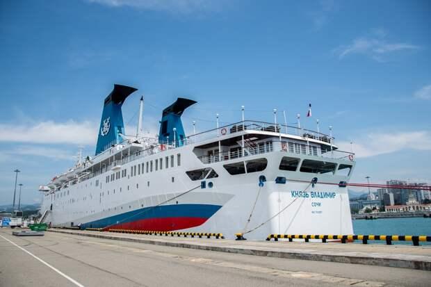 Летом лайнер «Князь Владимир» снова будет ходить в Крым