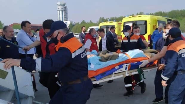 Один из детей пострадавших при стрельбе в Казани находится в крайне тяжелом состоянии
