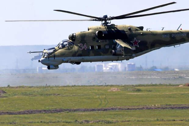 """Первый полет """"Крокодила"""": Ми-24 впервые поднялся в воздух 51 год назад"""