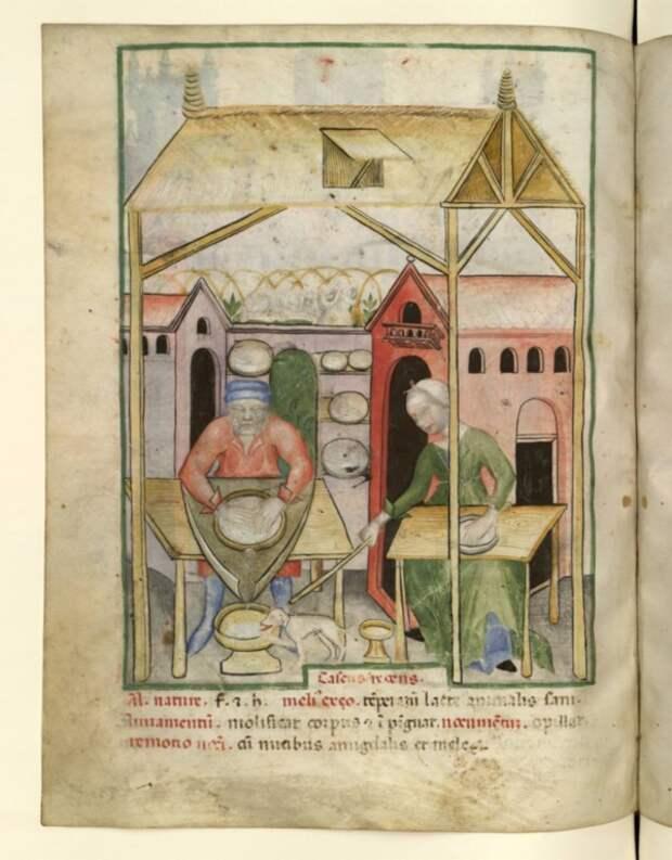 Средневековая кухня: некоторые факты и некоторые мифы