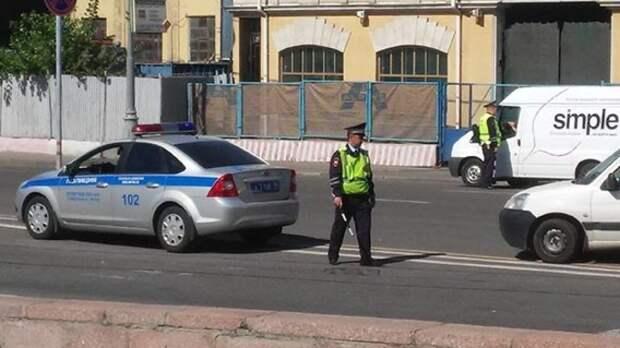 В центре Москвы прозвучали выстрелы