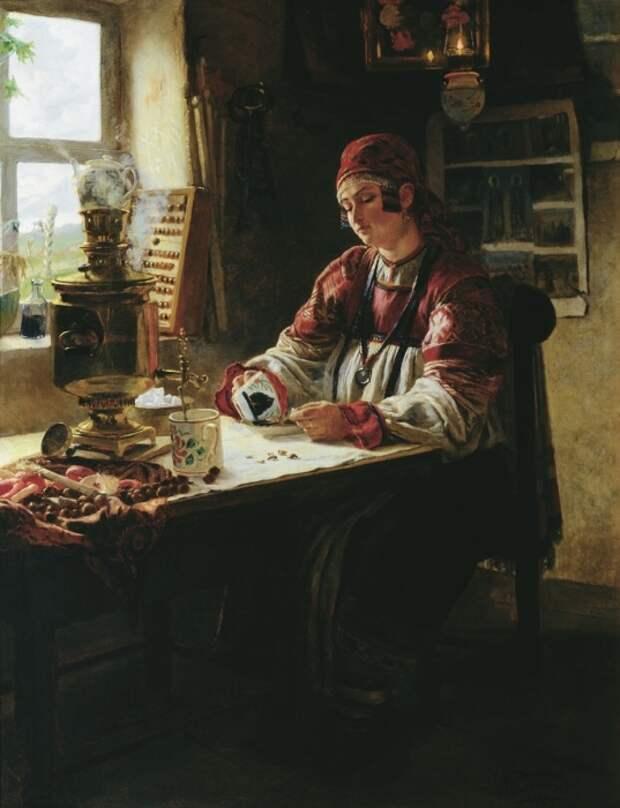Михаил Клодт, «За чайком». / Фото: www.stydiai.ru