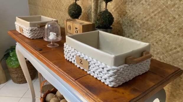 Удивительно красивая вещь из простой картонной коробки