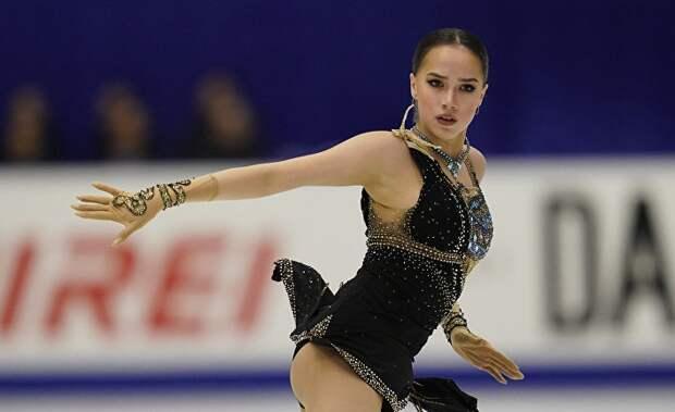 Фигуристка Алина Загитова настоящая красавица