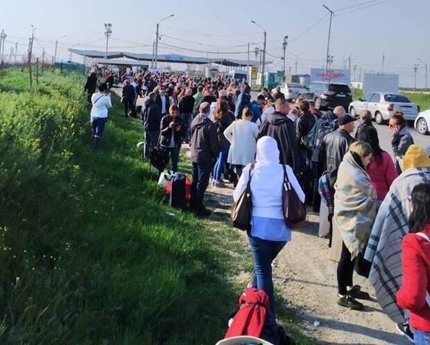 На майские праздники украинцы рванули в Крым