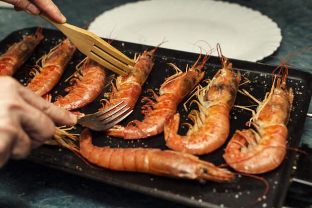 Что приготовить с креветками