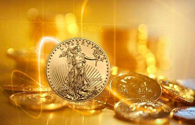 В мае продажи золотых монет на Монетном дворе США выросли на 360%