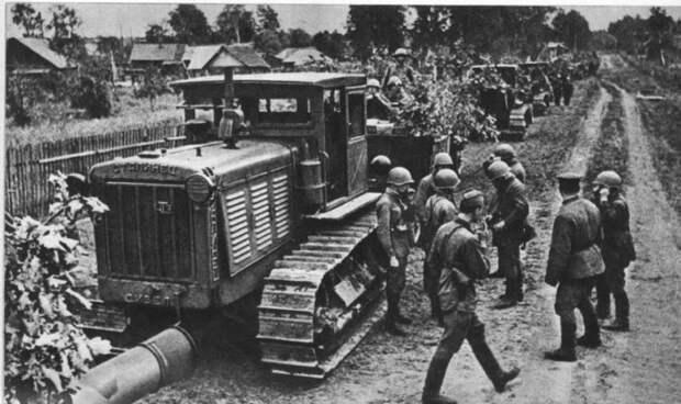 Рассказы об оружии. Трактор С-65 «Сталинец»