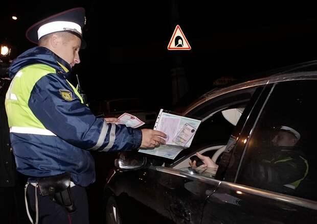 Как ГИБДД штрафует водителей за включенные противотуманки