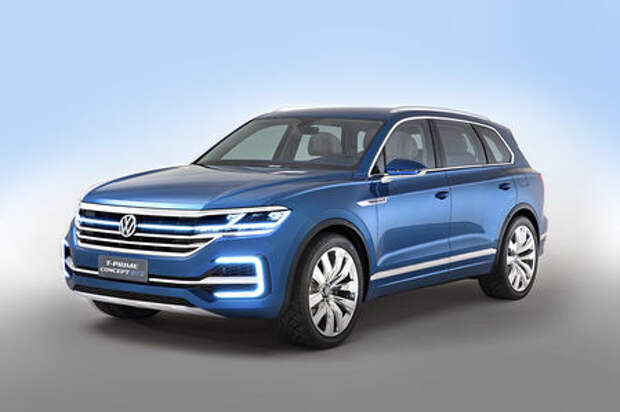 Volkswagen T‑Prime Concept GTE: взгляд в будущее