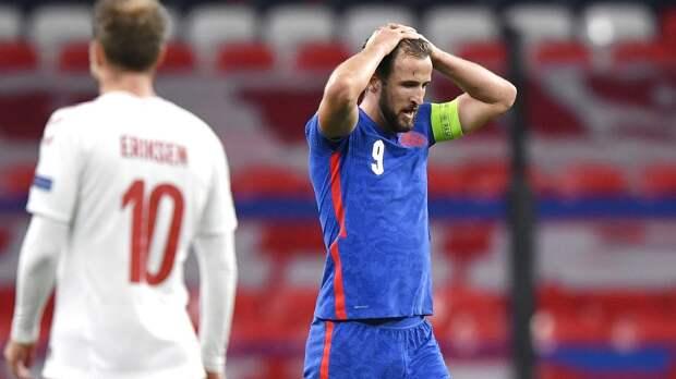 Сборная Англии проиграла впервые за год! Соперник сборной России по Евро - Дания - обыграла британцев