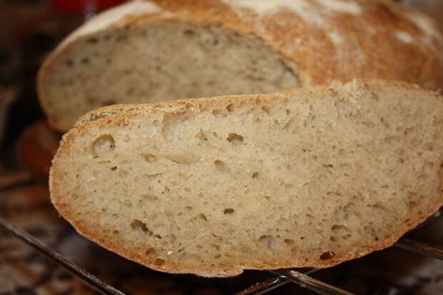 Хлеб в магазине не покупаю больше года. Для тех, кто не любит возиться с тестом — рецепт выручалочка