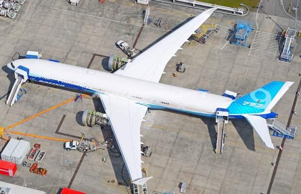 Boeing 777-9 получил свой первый двигатель