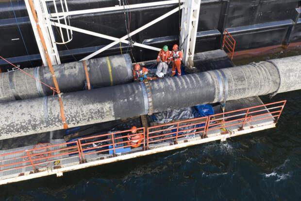 Оператор «Северного потока — 2» заявил о готовности газопровода на 99%