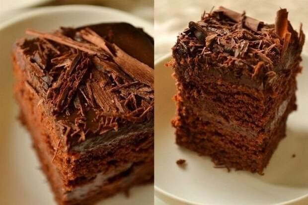 Супервлажный шоколадный пирог. Из разряда «смешал и готово»!