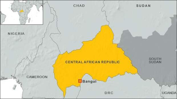 Армия ЦАР спасла жителей Мбутаго от боевиков