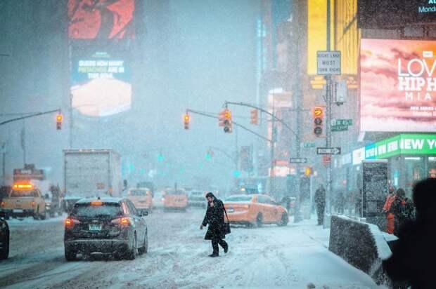 Улицы Нью-Йорка на снимках Джейсона Ли