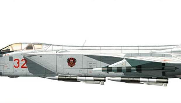10.МиГ-31. Рисунок.