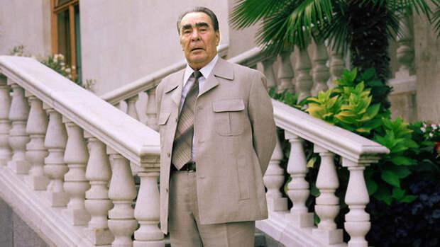Леонид Ильич Брежнев в 1981 году