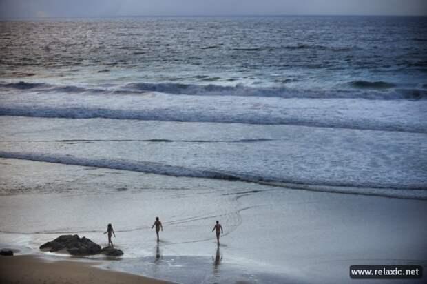 На берегу (46 фото)