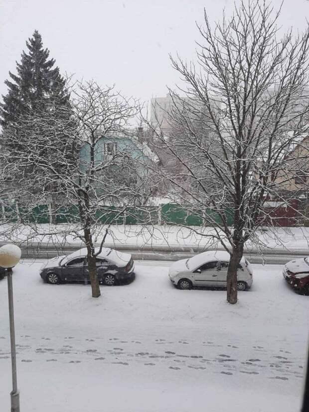 Минск замело, но уже в выходные в Минске лето