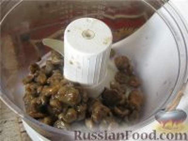 Фото приготовления рецепта: Картофельная запеканка с грибами постная - шаг №3
