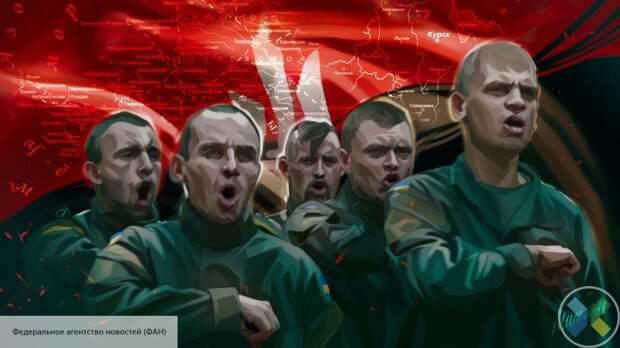 1,5 тысячи националистов собрались на митинг перед офисом Зеленского