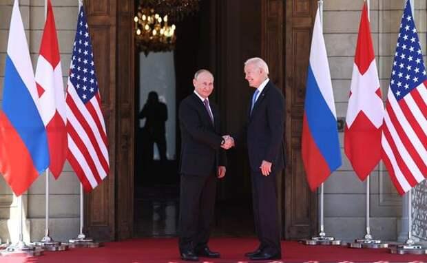 Путин поблагодарил Байдена за инициативу встретиться и рассказал шутку