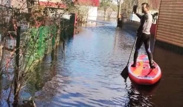 Дачи накоротком паводке: вода нехочет отступать отсадовых участков сормовичей