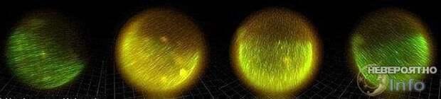 Таинство зачатия: свет и гравитационные вихри в яйцеклетке