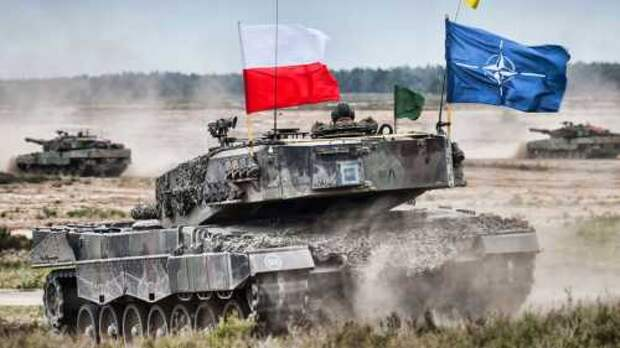Польские войска на границе с Украиной