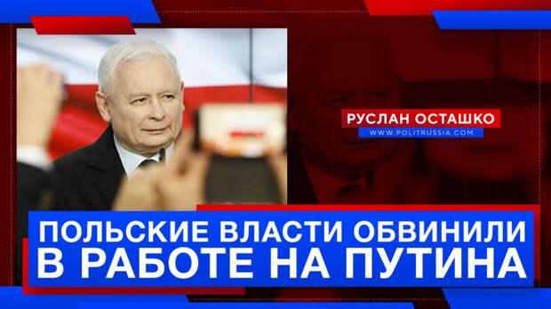 Польские власти обвинили в том, что они действуют в интересах Путина