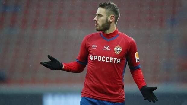 Влашич — лучший игрок матча «Тамбов» — ЦСКА