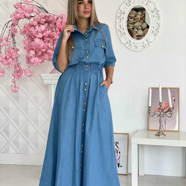 20+ идей как носить длинные платья, чтобы создать самый нежный образ