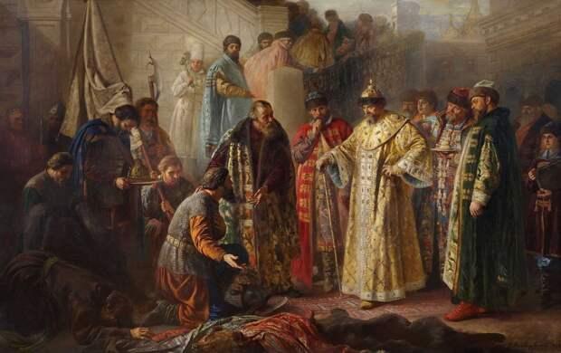 """""""Вдовствующее царство"""": опекунский совет при малолетнем Иване IV."""