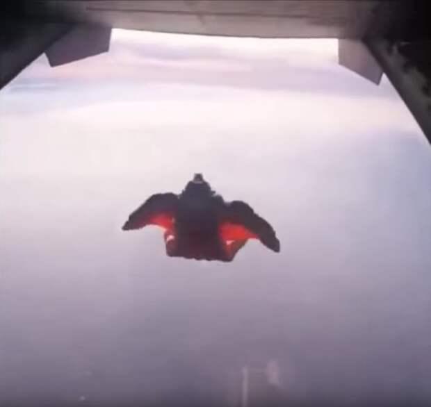 Сенсационное видео. Бесстрашные летуны