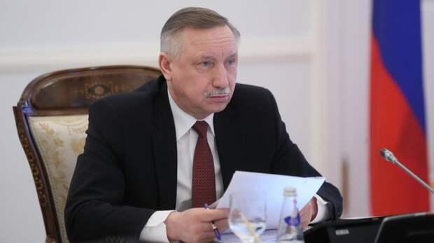 Беглов анонсировал усиление коронавирусных ограничений в Петербурге
