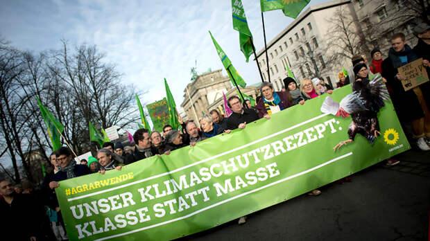 Зелёные начинают и выигрывают. Германия отворачивается от партии Ангелы Меркель