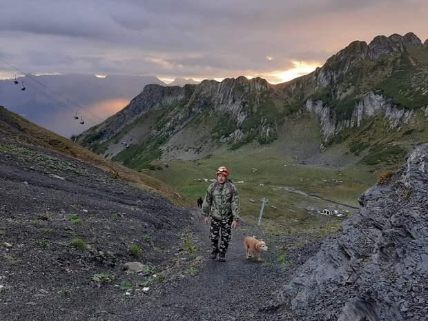 В горах Сочи пропала группа туристов с детьми