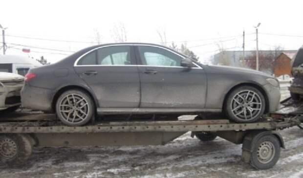В Оренбуржье на границе задержаны 16 иномарок класса люкс