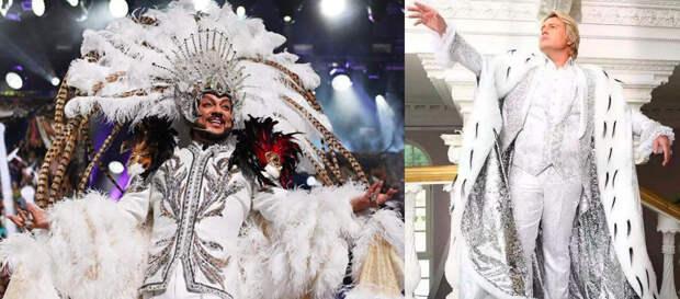 Общая корона и стиль королей российской эстрады. Совместные образы, созданные настоящими мастерами своего дела