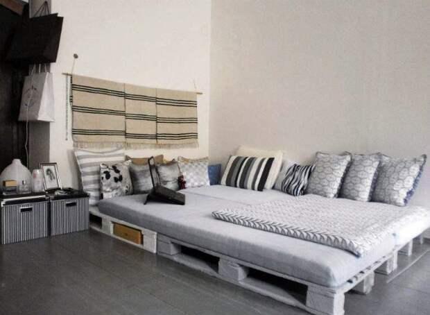 20 примеров стильной мебели из поддонов
