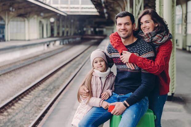 Семьи с детьми получат скидку на поездки в вагонах купе